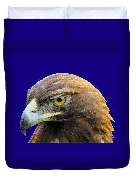 Golden Eagle Duvet Cover by Shane Bechler