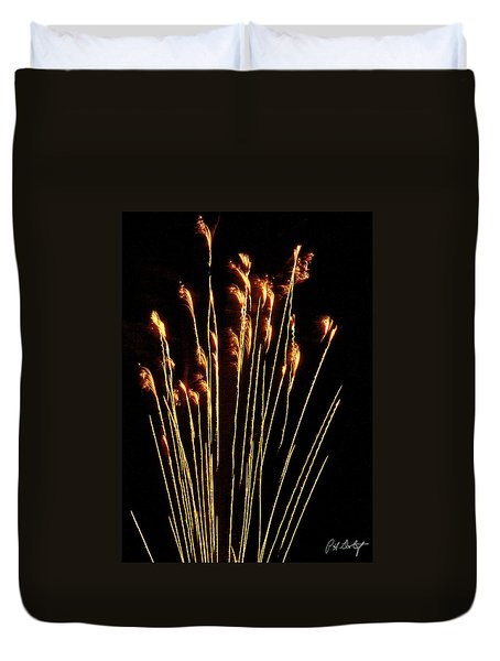 Goldenrod Duvet Cover by Phill Doherty