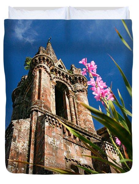 Gothic Chapel Duvet Cover by Gaspar Avila