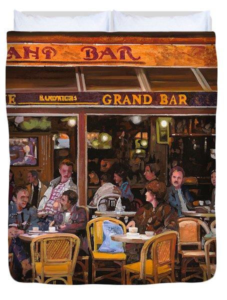 Grand Bar Duvet Cover by Guido Borelli