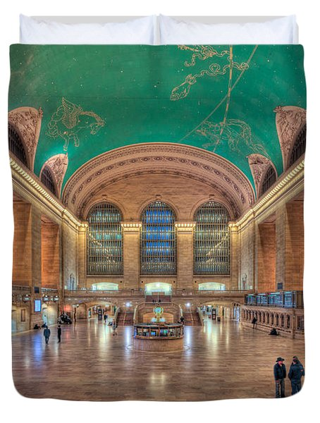 Grand Central Terminal V Duvet Cover by Clarence Holmes