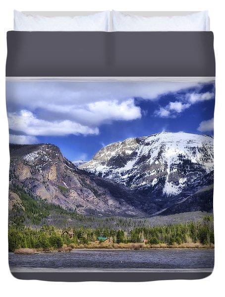 Grand Lake Co Duvet Cover by Joan Carroll