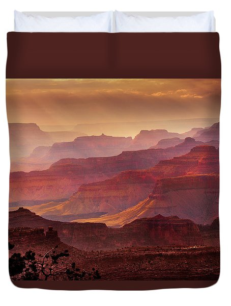 Grandeur Duvet Cover by Mikes Nature
