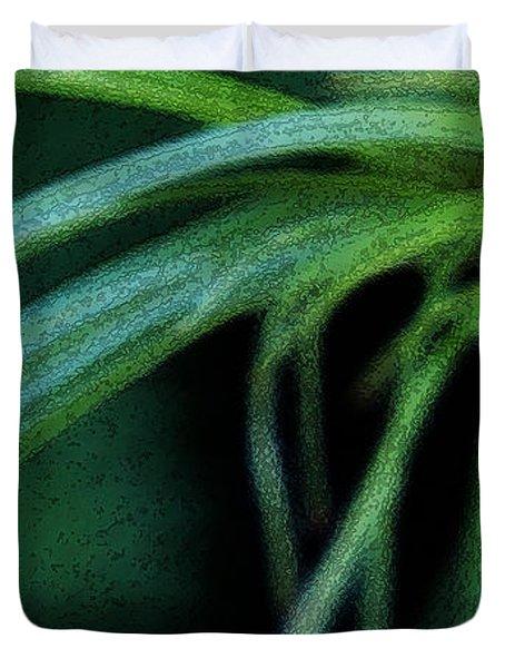Grass Dance Duvet Cover by Linda Shafer