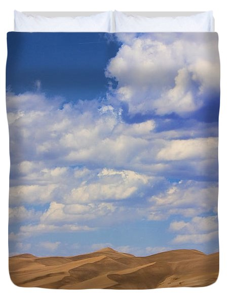 Great Colorado Sand Dunes Mixed View Duvet Cover by James BO  Insogna