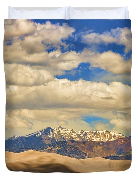 Great Sand Dunes National Monument Duvet Cover by James BO  Insogna