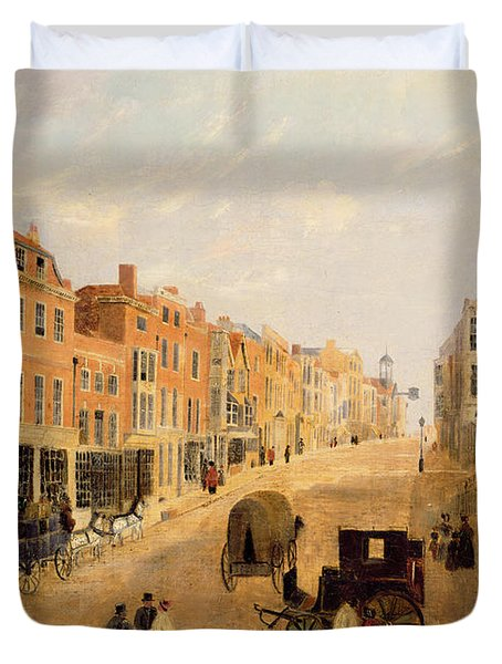 Guildford High Street Duvet Cover by English School