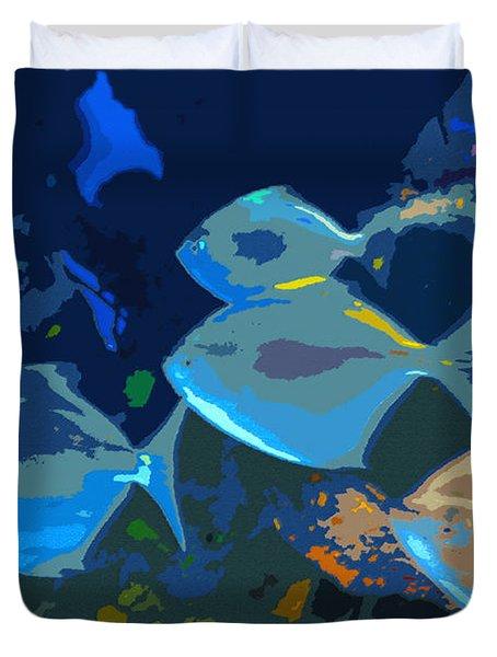 Gulf Stream Duvet Cover by David Lee Thompson