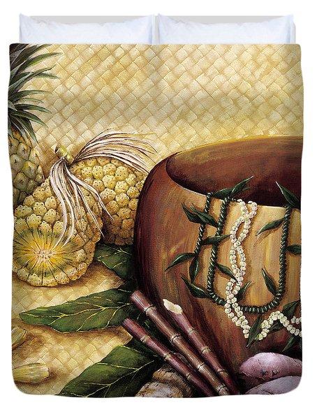 Hala Kahiki Duvet Cover by Sandra Blazel - Printscapes