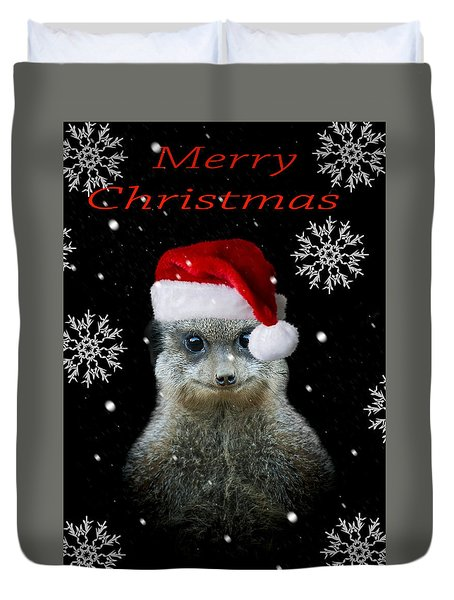 Happy Christmas Duvet Cover by Paul Neville
