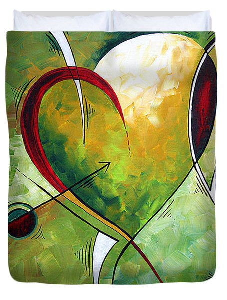 Happy Mother's Day by MADART Duvet Cover by Megan Duncanson