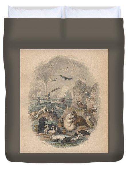 Harbor Duvet Cover by Oliver Goldsmith