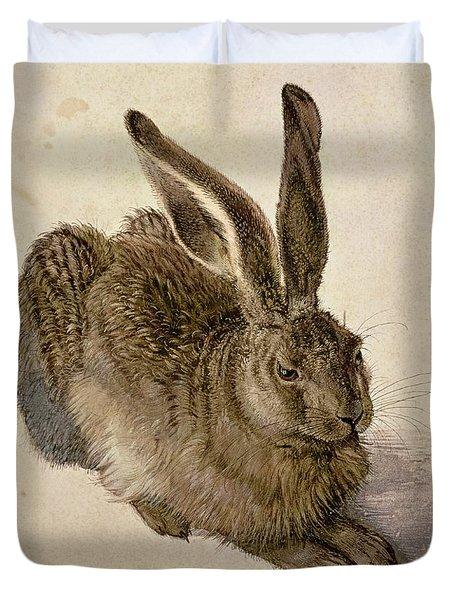 Hare Duvet Cover by Albrecht Durer