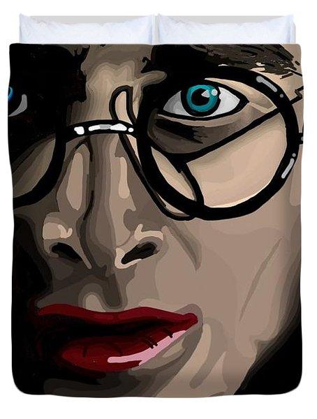 Harry Duvet Cover by Lisa Leeman
