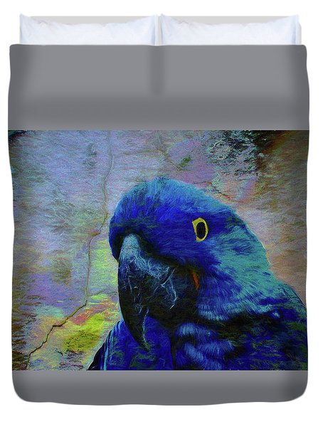 He Just Cracks Me Up Duvet Cover by Jan Amiss Photography