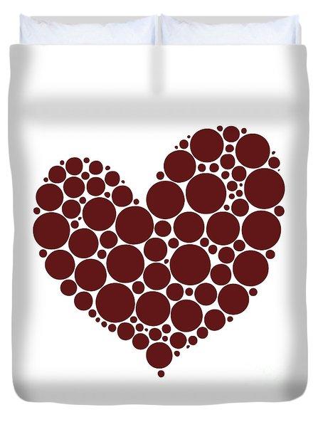 Heart Duvet Cover by Frank Tschakert