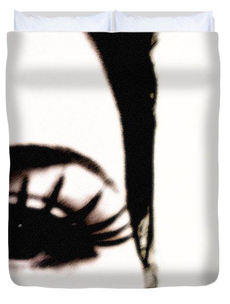Hello Duvet Cover by Amanda Barcon