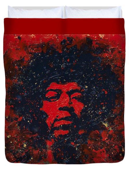 Hendrix Duvet Cover by Chris Mackie