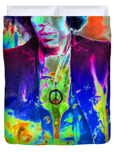 Hendrix Duvet Cover by David Lee Thompson