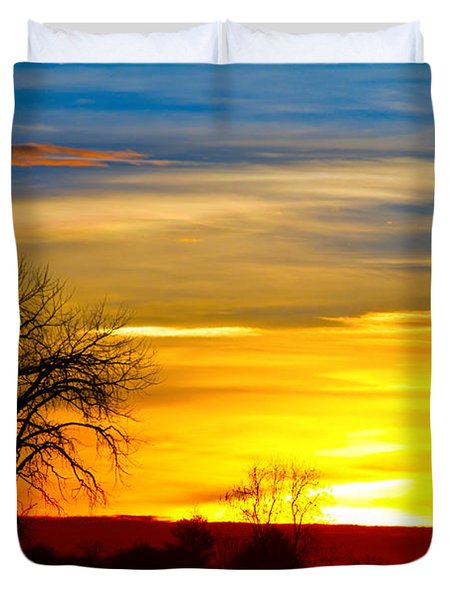 Here Comes The Sun Duvet Cover by James BO  Insogna