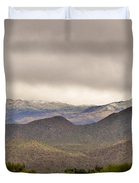Here Comes The Sun Duvet Cover by Marilyn Smith