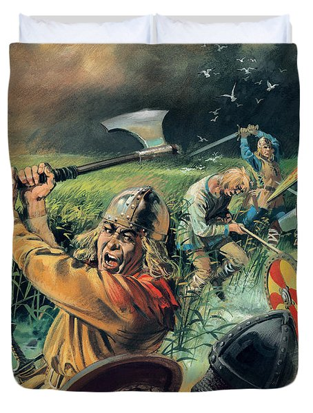 Hereward The Wake Duvet Cover by Andrew Howat