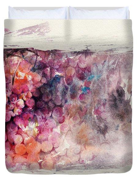 Hidden Beauty Duvet Cover by Rachel Christine Nowicki