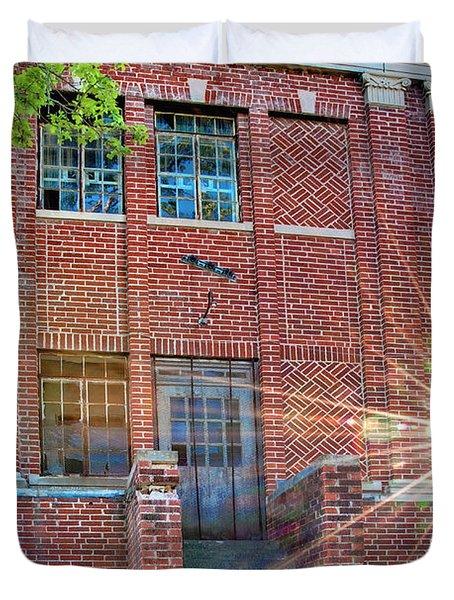 Historic Veteran's Hospital IIi Duvet Cover by Tamyra Ayles