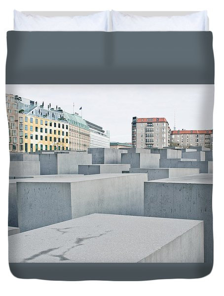 Holocaust Memorial Duvet Cover by Tom Gowanlock