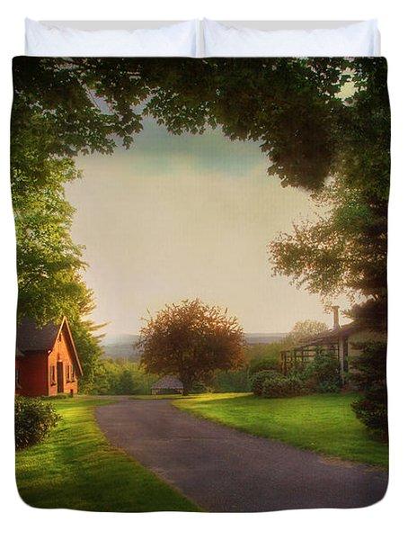 Home Duvet Cover by Joann Vitali