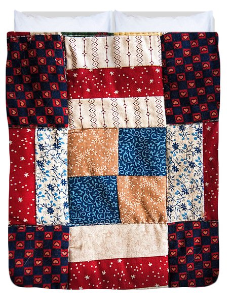 Homemade Quilt Duvet Cover by Christopher Holmes