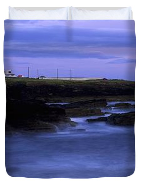 Hook Head Lighthouse, Co Wexford Duvet Cover by The Irish Image Collection