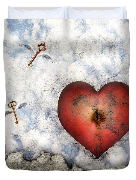 Hope Floats Duvet Cover by Jacky Gerritsen