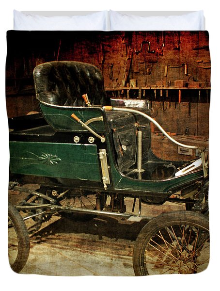 horseless carriage Duvet Cover by Ernie Echols