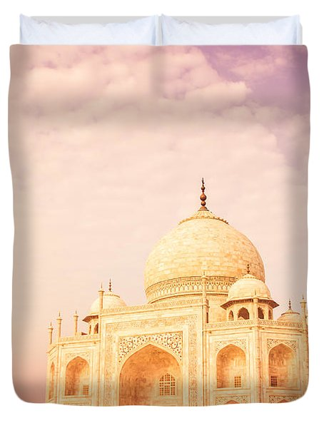 Hot Taj Mahal Duvet Cover by Nila Newsom