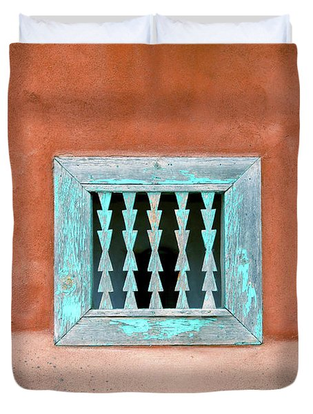 House Of Zuni Duvet Cover by David Lee Thompson