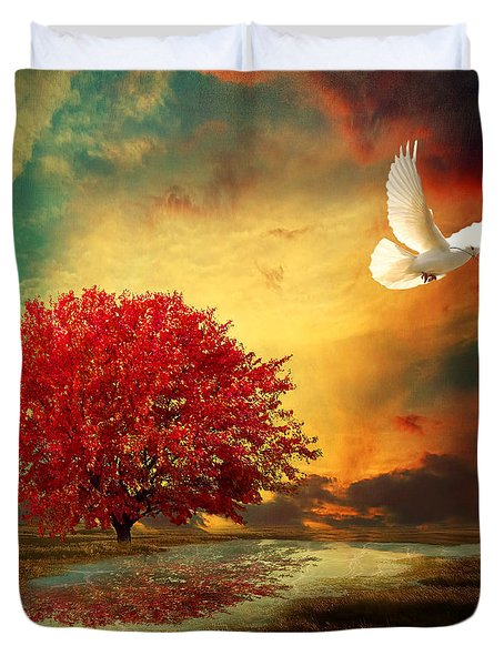 Hued Duvet Cover by Lourry Legarde