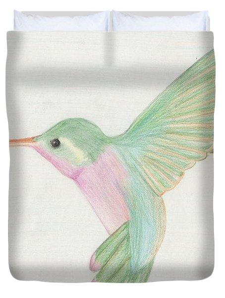 Hummingbird Duvet Cover by Joanna Aud