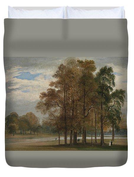 Hyde Park Duvet Cover by John Martin