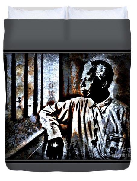 I Dream Of Freedom Duvet Cover by WBK