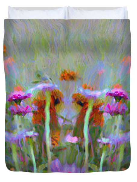 I Got To Get Back To The Garden Duvet Cover by Bill Cannon