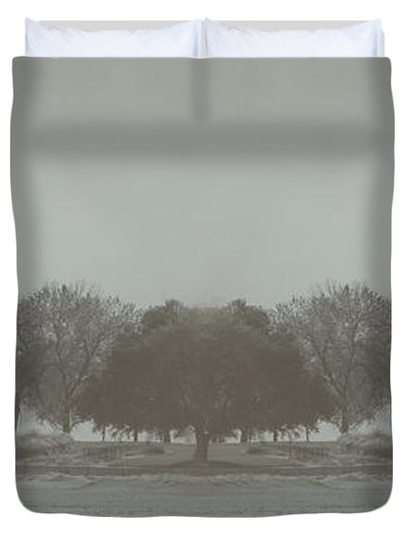 I Will Walk You Home Duvet Cover by Dana DiPasquale
