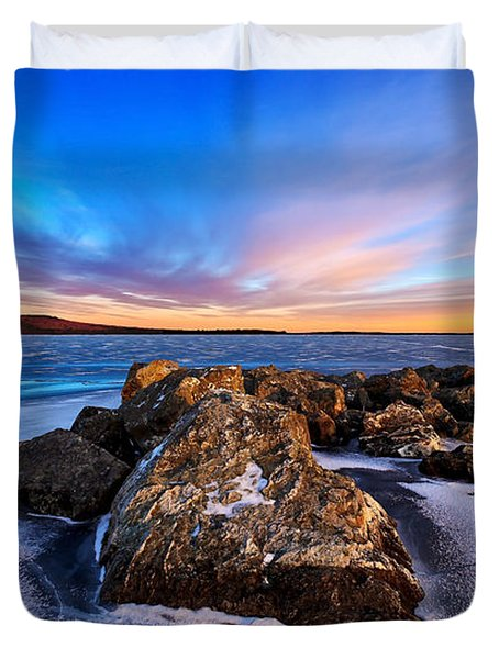 Icebound 2 Duvet Cover by Bill Caldwell -        ABeautifulSky Photography