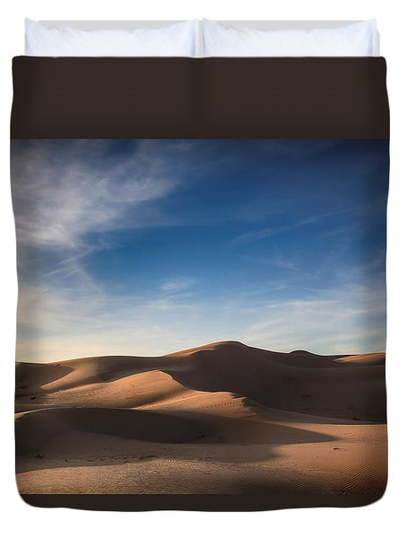 I'd Walk A Thousand Miles Duvet Cover by Laurie Search