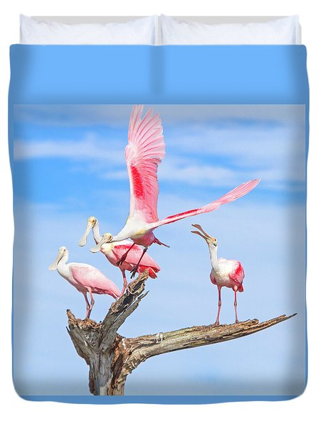 If You Had Wings Duvet Cover by Mark Andrew Thomas