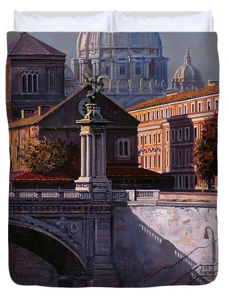 il cupolone Duvet Cover by Guido Borelli