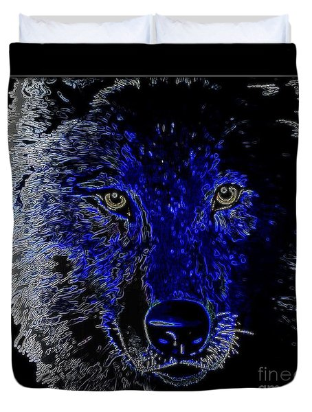 I'll Be Watching You Duvet Cover by WBK
