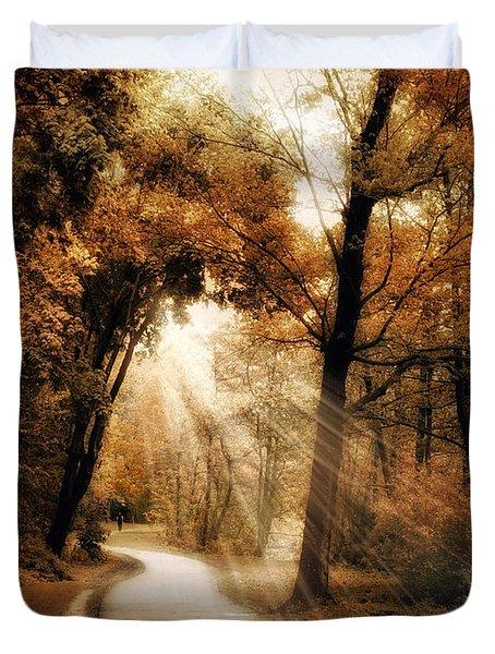 Illumination Duvet Cover by Jessica Jenney