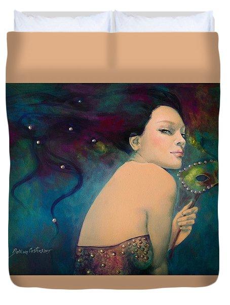 Illusory Duvet Cover by Dorina  Costras