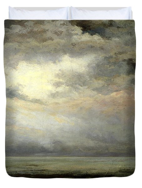 Immensity Duvet Cover by Gustave Courbet